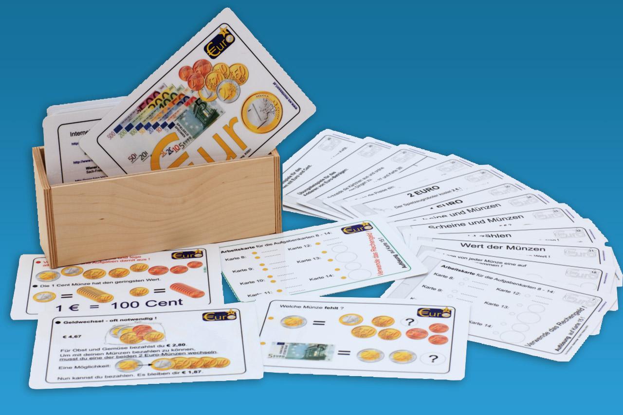 EURO-Rechenkartei - Lernmaterial-Shop - BEL Montessori