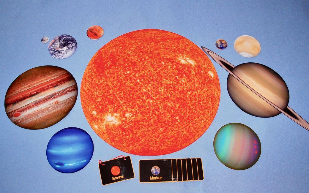 Kosmisches Material - Lernmaterial-Shop - BEL Montessori